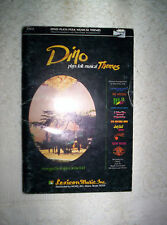 BA Dino Kartsonakis plays folk musical Themes songbook choral piano organ 10.5x7