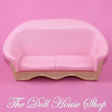Fisher Price Loving Family Dream Dollhouse Pink Doll Sofa Couch Living Room Seat