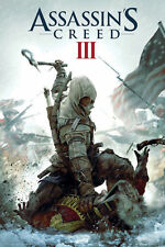 "Assassins Creed 3 POSTER ""Gaming, PC, XBOX"" BRAND NEW Licensed Art"