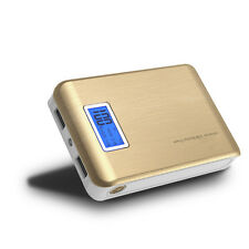 Dual USB 50000mAh LCD Power Bank Backup External Battery Charger For SmartPhone