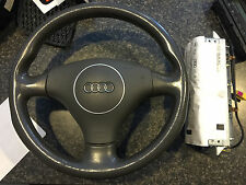 Audi A4 Steering wheel with Airbag and Passenger Airbag - Complete Set w/ VIN#