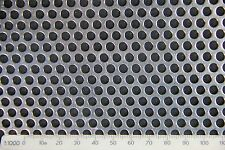 3mm hole-5mm pitch-1mm spessore ss304-perforated mesh Sheet -300 x 400 mm foglio