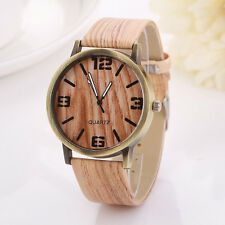 Latest Vintage Wood Grain Watches Fashion Casual Women Quartz Watch Wristwatch
