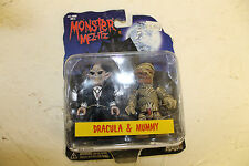 Monster Mez-Itz Dracula and The Mummy Figures in package