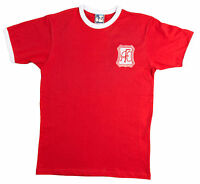 Retro Aberdeen Football T Shirt New Sizes S-XXXL Embroidered Logo