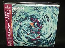 CROWN THE EMPIRE Retrograde + 2 JAPAN CD The White Noise Hollowealth Metalcore !