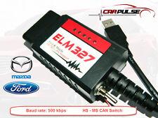 ELM327 1.5 USB FTDI  Elmconfig fur Mazda Ford MS-HS CAN OBD2 FORScan 500 kbps