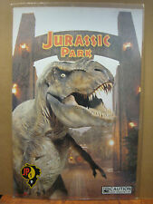 vintage movie poster original Visitors guide to Jurassic park  JP1 1993 11879