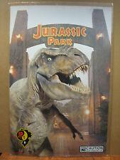 vintage movie poster original Visitors guide to Jurassic park  JP1 1993 11879