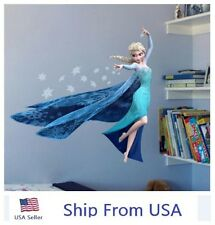 QUEEN Elsa Frozen Princess Decal Removable WALL STICKERS Kids Home Decor DIY USA