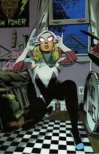 SPIDER GWEN ART PRINT Signed By MIKE MAYHEW