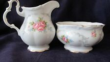 Mint Royal Albert Tranquility Cream And Sugar With Tray 1st Quality England