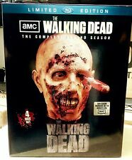 The Walking Dead Complete Season 2, Blu-ray Set, Limited Edition Zombie Head NEW