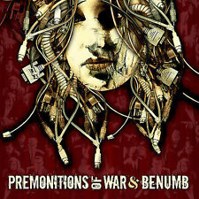 SPLIT CD PREMONITIONS OF WAR/BENUMB BRAND NEW SEALED