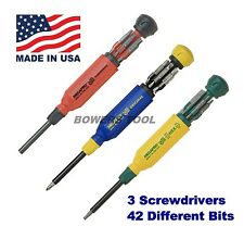 Megapro Original Tamperproof & Hex Milti Bit Screwdriver Set Torx Hex Phillips