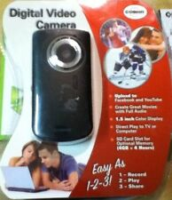 Cobra Digital Video Camera,  Black!! New