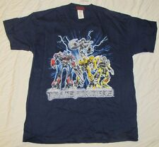 XL 14/16 YOUTH T-SHIRT TRANSFORMERS OPTIMUS PRIME JAZZ BUMBLE BEE RATCHET MOVIE!