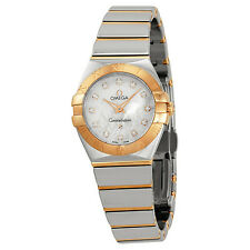 Omega Constellation Rose Gold Ladies Watch 12320246055003