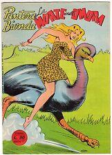 fumetto PANTERA BIONDA ANNO 1954 COLLANA JUNGLA AVVENTUROSA NUMERO 11 EDICOLA
