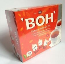 M# Famous BOH Tea Plantation Cameron Highlands - 100 Teabags 200g