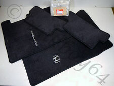 01 HONDA PRELUDE NEW GENUINE OEM FLOOR MAT RUG SET