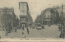 CARTE POSTALE / MARSEILLE / LOT DE 4 CARTES / LE PRADO / PANORAMA / ETC...