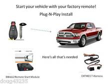 Plug-N-Play Remote Starter for Chrysler / Dodge / Jeep - DB3 & THCHD1 T-Harness