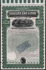 1899 The Chicago and Alton Railroad Company - $1000 Gold Bond