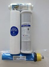 RAINSOFT ULTREFINER UF22 UF22T UF22N 22 GPD FILTER PACK WITH POST- WELL WATER