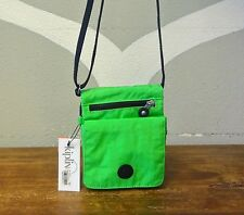 KIPLING Applemint Green Nylon Slim Swingpack Crossbody Bag - NEW NWT