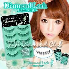 Diamond Lash False Eyelashes Little Wink Series N0.4 Romance Eyes 5 pairs