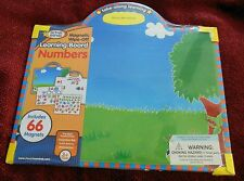 Active Minds Magnetic Wipe-off Learning Board - Numbers