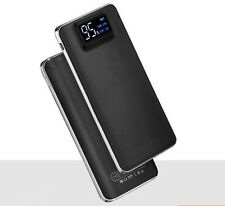 Ultra-Thin 20000mAh Power Bank Battery LCD Display Backup Dual USB Port Charger