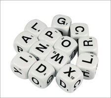 Alphabet Educational Dice Uppercase Letters 13 Six Sided Literacy 16mm (D087)