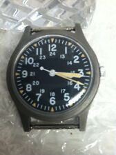 Vintage Benrus Military GG-W-113 Manual Wind Mens Watch March 1982