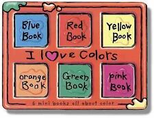 Pinwheel: Bright Starts: I Love Colors: 6 Mini Books All About Color