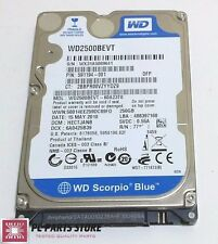 Western Digital 250GB 2.5 WD2500BEVT-60A23T0 2061-771672-F04 AA FOR PARTS/REPAIR