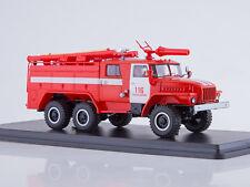 URAL 43202 AC-40 PM-102B Fire Truck khaki SSM 1234B 1:43