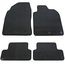 Nissan Qashqai MK I 2007-2013 Fully Tailored 4 Piece Rubber Car Mat Set 2 Clips