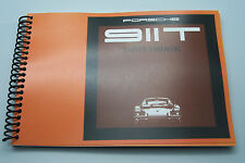 1969 Porsche 911 Owners Manual Parts Service reprint 1968 porsche 911 t