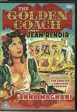 THE GOLDEN COACH DVD BY JEAN RENOIR THE ENGLISH LANGUAGE VERSION