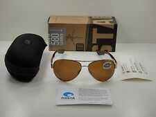 COSTA DEL MAR POLARIZED SUNGLASSES SOUTH POINT SO84 OCGLP COPPER GLASS 580G LENS