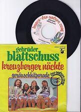 """Gebrüder Blattschuss, Kreuzberger Nächte, VG+/VG++ 7"""" Single 0892-5"""