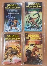 Sagard The Barbarian ***FULL SET 1-4!!*** Gary Gygax Fighting Fantasy Style