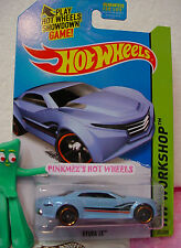 Case A 2015 Hot Wheels RYURA LX #204∞light Blue;orange rim pr5∞∞Night Burnerz