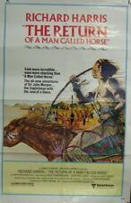 The Return of a Man Called Horse Original Single Sided Movie Poster Harris 1976