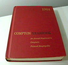 1964 Yearbook Compton Encyclopedia Annual Pictured Encyclopedia Supplement