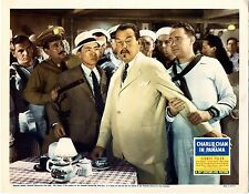 AWESOME SIDNEY TOLER, CHARLIE CHAN IN PANAMA, LOBBY CARD 5 PHOTO  8X10