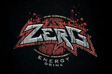 Zerg Energy Drink Blizzard Starcraft Feel the Rush Tee Shirt Jinx Size XXL Black