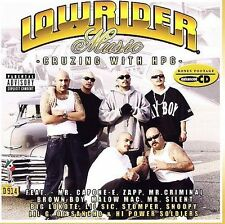 Chicano Rap CD Lowrider Music Cruzing with HPG - Mr Criminal Big Lokote Lil Sic